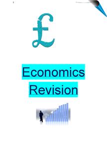 Preview of economics unit 2