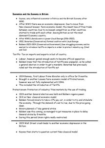 Preview of Economy Spec part 1