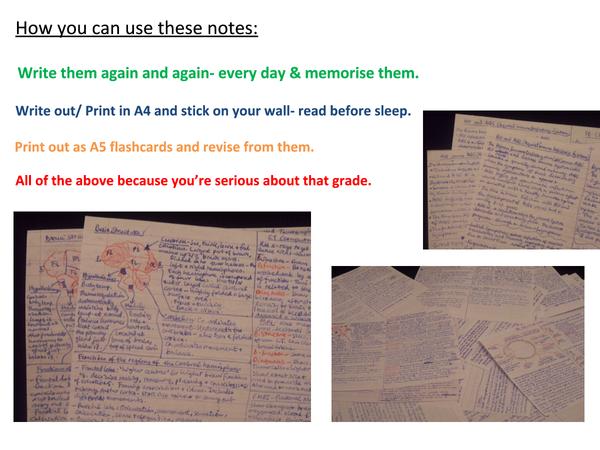 Preview of Edexcel A2 Biology Unit 4 revision cards