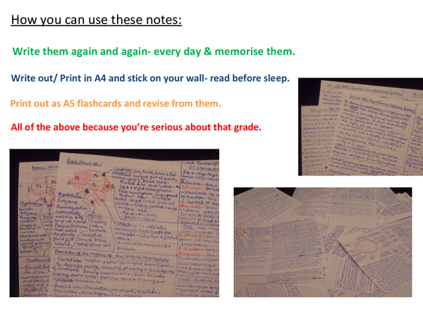 Preview of Edexcel A2 Biology Unit 5 revision cards