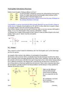 Preview of Edexcel chemistry from 2008 nucleophilic substitution reactions explained