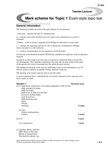 Cambridge International AS and A Level Biology (9700)