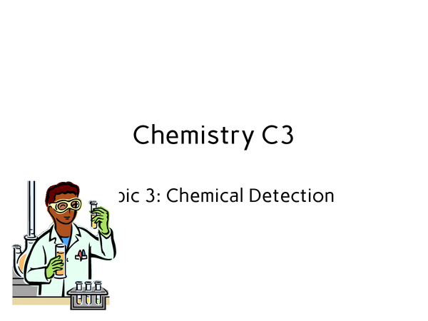 Preview of Edexcel GCSE Chemistry: C3 - complete revision notes for the first topic