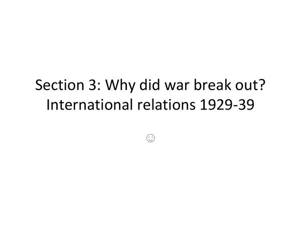 Preview of Edexcel GCSE History A: Unit 1, Section 3