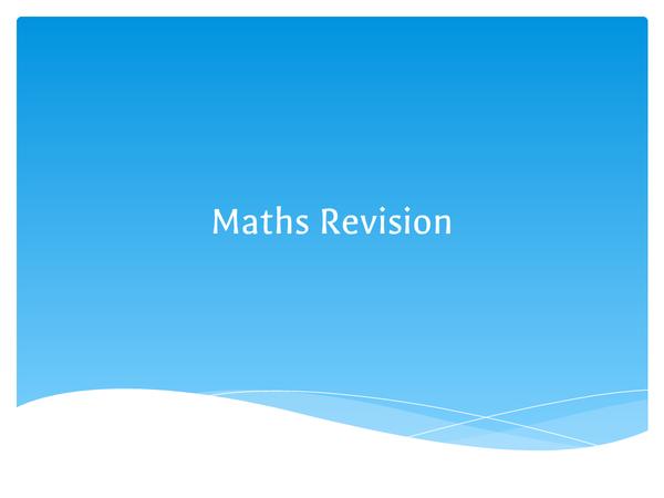 Preview of Edexcel GCSE Maths B Modular Unit 1 (Higher) ppt