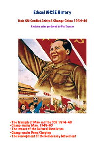 Preview of Edexcel iGCSE History Revison: Conflict, Crisis & Change: China: 1934-89