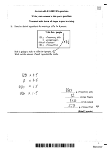 Preview of Edexcel Maths 11 June 2010 Mark scheme!!