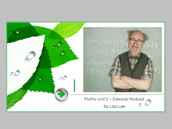 Preview of Edexcel Maths Unit 2 Higher Tier