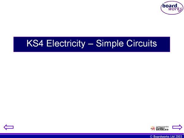 Preview of Edexcel p1a powerpoint - simple circuits