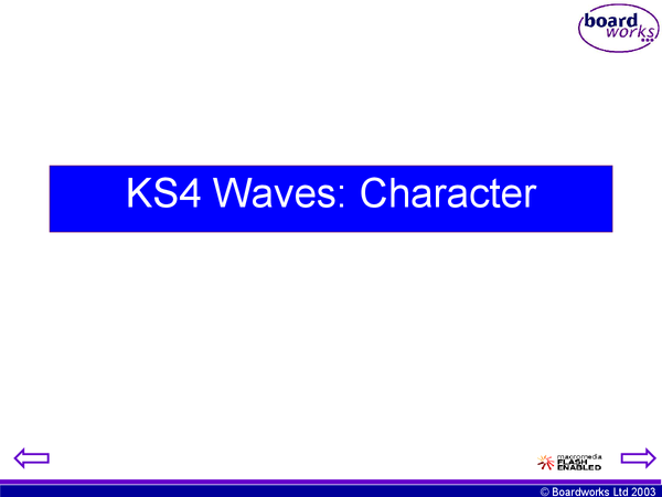 Preview of Edexcel p1b powerpoint - introduction to waves