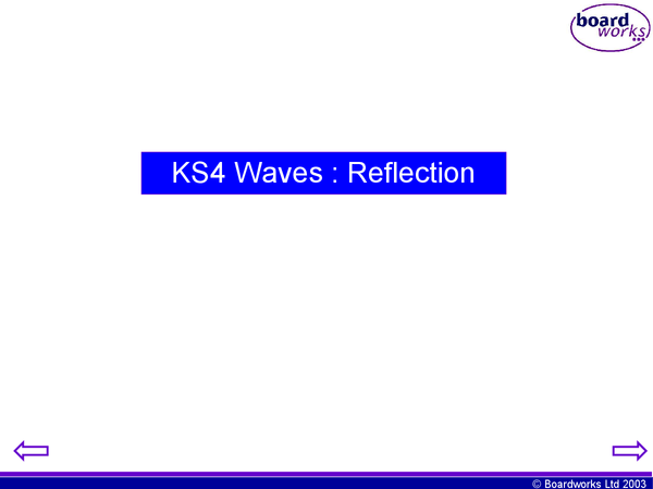 Preview of Edexcel p1b powerpoint - waves - reflection