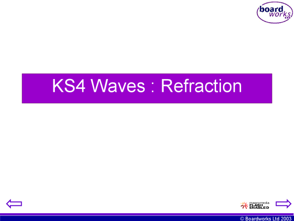 Preview of Edexcel p1b powerpoint - waves - refraction
