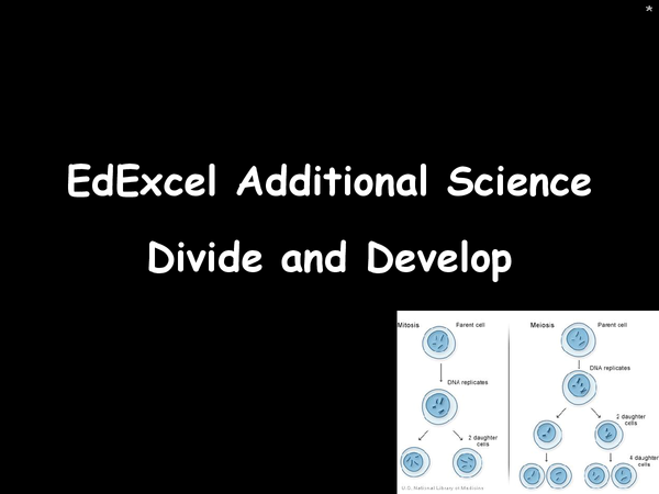 Preview of Edexcel topic 2 - divide and develop powerpoint