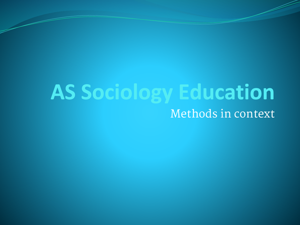 education and research methods past papers