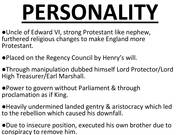 goverments of somerset and notherumberland Henry viii: character and aims addressing henry vii's legacy government:  crown and  edward vi, somerset and northumberland royal authority  problems of.