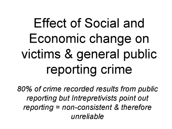 Preview of Effect of Social and Economic Change on Victims & general public reporting crime, OCR