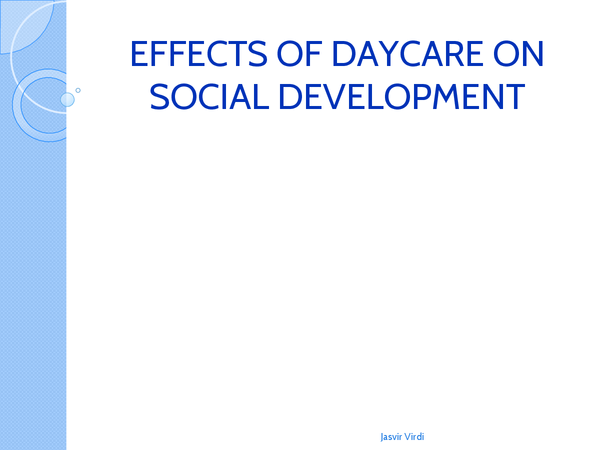 Preview of Effects Of Daycare - Attachments - Revision Cards