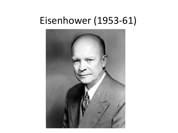 Preview of Eisenhower and MLK revision