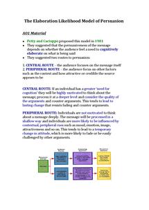 Preview of Elaboration-Likelihood Model of Persuasion