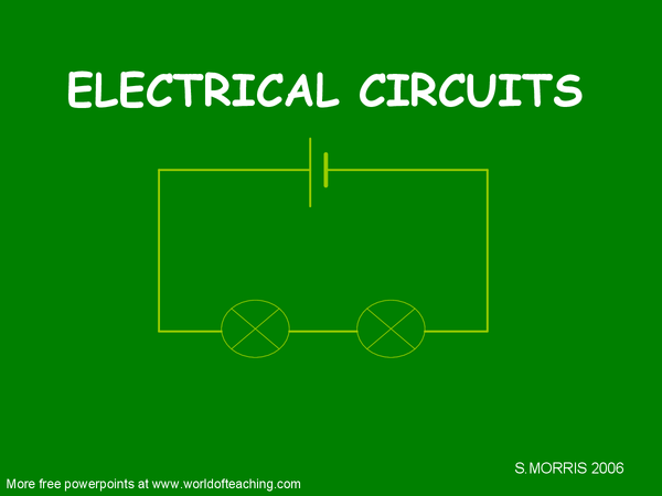 Preview of Electric Circuits