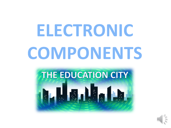 Preview of Electric Components - Science - Physics