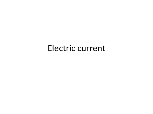 Preview of Electric current symbols