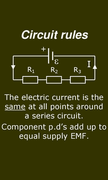 Preview of Electricity - Circuit Rules - smart phone physics