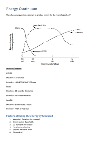 Preview of Energy Continuum and Recovery A2 OCR