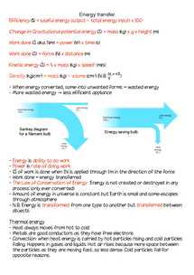 Preview of Energy revision