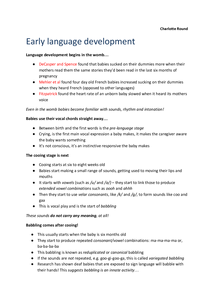 Preview of ENGB3 complete child language acquisition revision notes