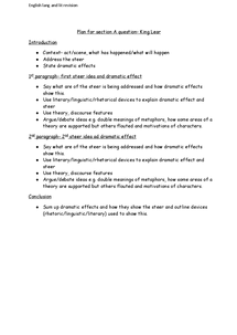 a2 english literature essay plan The tutor pages - a-level english tutor article: an example of an english literature a-level essay.