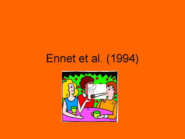 Preview of Ennet et al. 1994