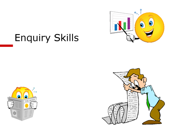 Preview of enquiry skills