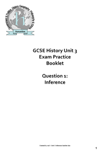 Preview of EPIC REVISION GUIDE FOR GCSE UNIT 3B HISTORY EDEXCEL
