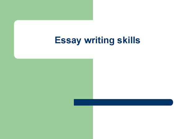 Preview of Essay writing skills in Sociology