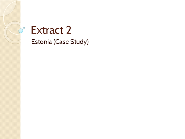 Preview of Estonia Extract 2