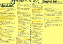 Preview of Eternal/Everlasting God and Omnipotent God for OCR PHILOSOPHY OF RELIGIOIN A2