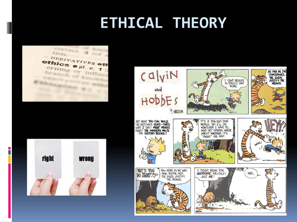 Preview of ethical theory