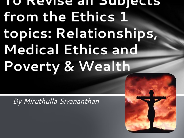 Preview of Ethics 1