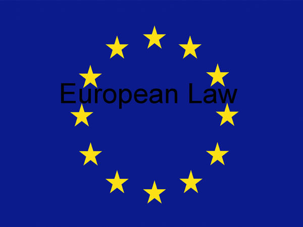 Preview of European Law PowerPoint