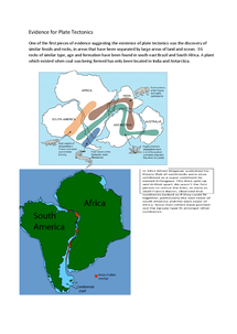 Preview of Evidence for plate tectonics