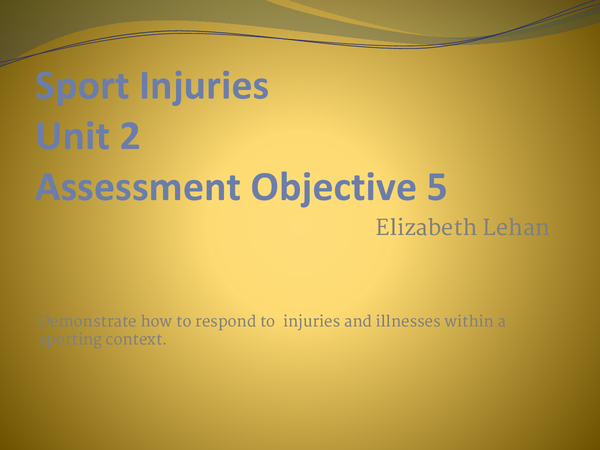 Preview of Example Powerpoint for OCR Unit 2, AO5
