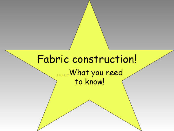 Preview of fabric construction