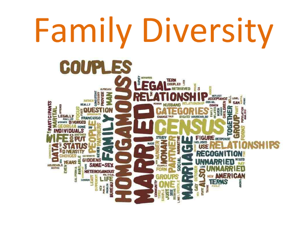 Preview of Family Diversity Presentation