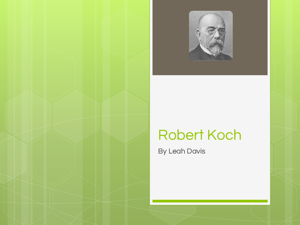 Preview of Famous Individuals - Robert Koch