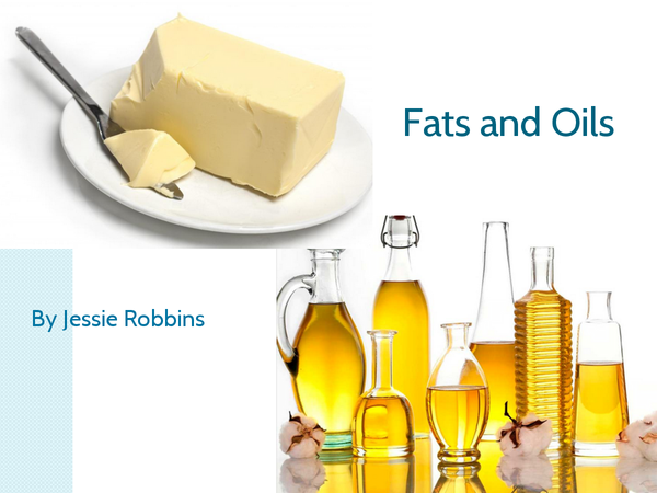 Preview of Fats and Oils