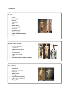 Preview of Features of sculpture OCR