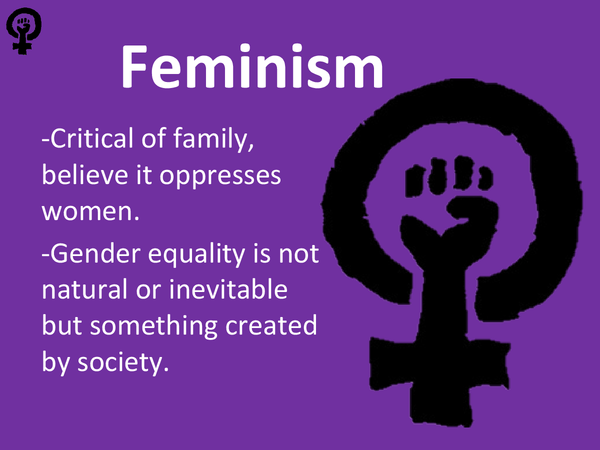 Preview of Feminist View on Family