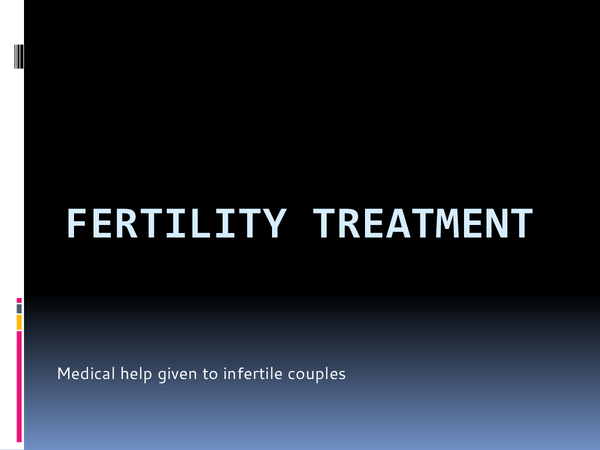 Preview of Fertility Treatment