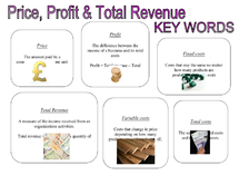 Preview of Finance key words